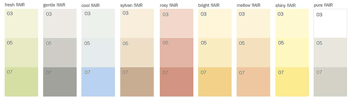 Baumit IonitColor vzorník barev